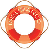 försäkringlifesaver Arkivfoton