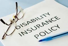 Försäkringpolitik Royaltyfri Foto
