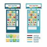Försälja den slutliga ställningen för kiosk Arkivfoto