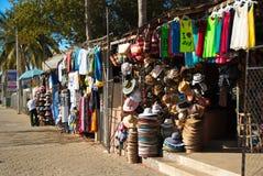 Försäljare i stadens centrum Cabo San Lucas Arkivbild