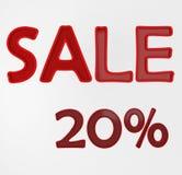 försäljning 20 Arkivfoton
