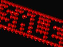 försäljning 3D med rose knoppar Royaltyfria Foton