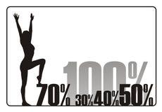 försäljning 4 stock illustrationer