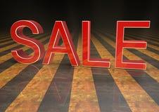 försäljning 3d Arkivbild