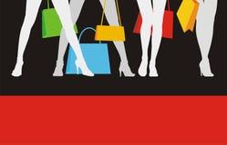 försäljning för 2 kläder stock illustrationer
