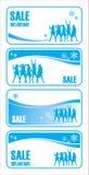 försäljning för 3 jul royaltyfri illustrationer