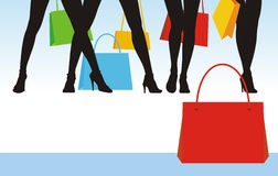 försäljning för 3 kläder vektor illustrationer