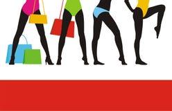 försäljning för 5 kläder Royaltyfri Foto