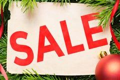 försäljning för glass hand för begrepp förstorande Julgarnering och tappningpappersark Arkivfoton