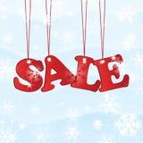 Försäljning för jul och för nytt år Arkivbilder