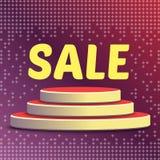 Försäljning för specialt erbjudande royaltyfri illustrationer
