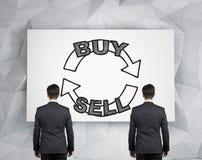 Försäljning och köp royaltyfria bilder