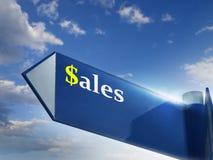 försäljningar arkivbild