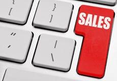 Försäljningar arkivfoto