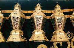 Försäljningar för marknad för Ramadankareemlykta Foto inget royaltyfria foton