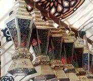Försäljningar för marknad för Ramadankareemlykta Foto inget royaltyfri fotografi