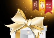 Försäljningsaffisch (formatet A3) för Black Friday Arkivfoto