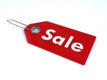 försäljningsetikett Arkivbild