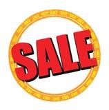 Försäljningsetikett Arkivfoton