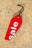 försäljningsetikett Arkivbilder