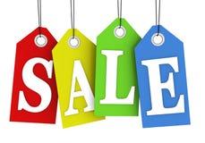försäljningsetiketter stock illustrationer