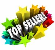 FörsäljningsPerson Stars Best Employee Worker för bästa säljare resultat Royaltyfria Foton