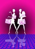 försäljningsshopping Royaltyfria Bilder