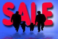 försäljningstecken Arkivfoto