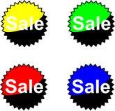 försäljningstext Arkivbild