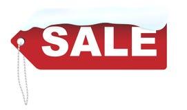 försäljningsvektorvinter Royaltyfri Fotografi