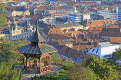 Församling av Graz Arkivbild