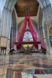 Församling- och priorsklosterkyrkan av helgonet Nicholas Arundel West Sussex Royaltyfri Fotografi