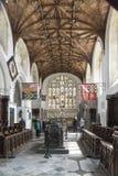 Församling- och priorsklosterkyrkan av helgonet Nicholas Arundel West Sussex Royaltyfria Bilder