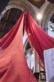 Församling- och priorsklosterkyrkan av helgonet Nicholas Arundel West Sussex Fotografering för Bildbyråer