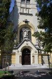 Församlingkyrka av St James, Ljubljana Fotografering för Bildbyråer