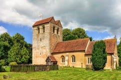 Församlingkyrka, Fingest, Buckinghamshire, England Arkivbilder