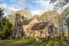 Församlingkyrka, Warwickshire Arkivfoton