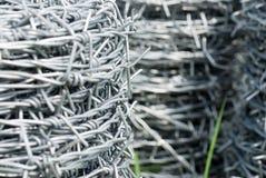 förse med en hulling coilstråd fotografering för bildbyråer