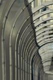 förse med en hulling stakettråd Royaltyfri Foto