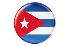 Förse med märke med flaggan av Kuban, tolkningen 3D vektor illustrationer