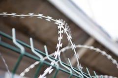 Försett med en hulling - tråd stock illustrationer