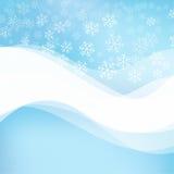 Försiktig vinterabstrakt begreppbakgrund Arkivfoton