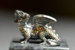 Försilvra draken Royaltyfri Fotografi