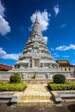 Försilvra pagodaen Royaltyfria Bilder