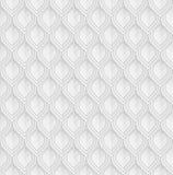 Försilvra reptil- eller fiskvåg Lamellar pansarefterföljd seamless vektor för modell royaltyfri illustrationer