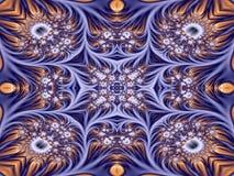 Förskönad kalejdoskop vektor illustrationer