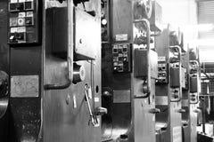 förskjuten printing för maskin Royaltyfri Foto