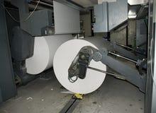 förskjuten rengöringsduk för pressrulle Fotografering för Bildbyråer