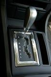 förskjutning för kugghjul för bilbilclose upp Royaltyfria Bilder