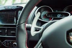 Förskjutning för Renault CLIO RS 2017 kugghjulask Arkivbild
